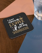 Sip Coffee Sheepadoodle Square Coaster aos-homeandliving-coasters-square-lifestyle-01