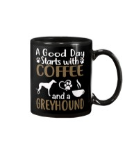A Good Day With Coffee And Greyhound Mug thumbnail
