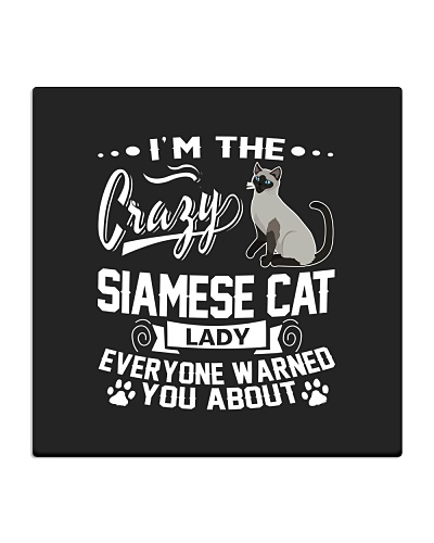 Crazy Siamese Cat Lady