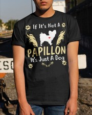 It Is Just A Papillon Classic T-Shirt apparel-classic-tshirt-lifestyle-29