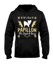 It Is Just A Papillon Hooded Sweatshirt thumbnail