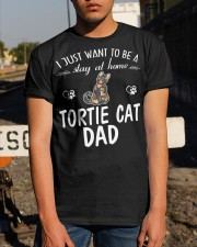 Tortie Cat Dad Classic T-Shirt apparel-classic-tshirt-lifestyle-29