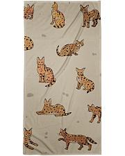 Savannah cat Bath Towel thumbnail