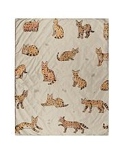 "Savannah cat Quilt 40""x50"" - Baby thumbnail"