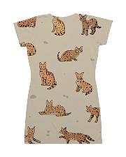 Savannah cat All-over Dress back