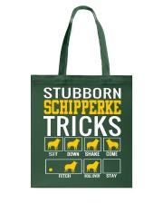 Stubborn Schipperke Tricks Tote Bag thumbnail