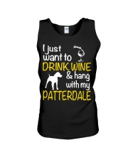 Drink Wine With Patterdale Terrier  Unisex Tank thumbnail