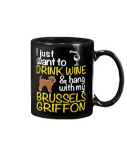 Drink Wine With My Brussels Griffon Mug thumbnail