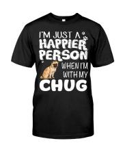 Happier Person Chug Classic T-Shirt thumbnail