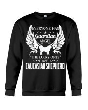 My Guardian Angel Is A Caucasian Shepherd Crewneck Sweatshirt thumbnail