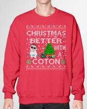 Christmas Is Better With A Coton de Tulear Crewneck Sweatshirt garment-crewneck-sweatshirt-front-01