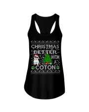 Christmas Is Better With A Coton de Tulear Ladies Flowy Tank thumbnail