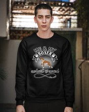 Boxer Is In My Heart And Soul Crewneck Sweatshirt apparel-crewneck-sweatshirt-lifestyle-02