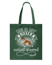 Boxer Is In My Heart And Soul Tote Bag thumbnail