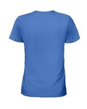 CRAZY POODLE LADY  Ladies T-Shirt back