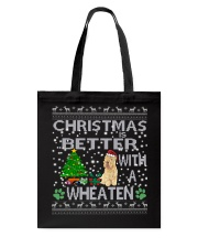 Christmas Is Better With A Wheaten Tote Bag thumbnail