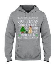 Christmas Is Better With A Wheaten Hooded Sweatshirt thumbnail