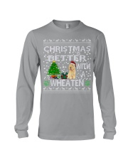 Christmas Is Better With A Wheaten Long Sleeve Tee thumbnail