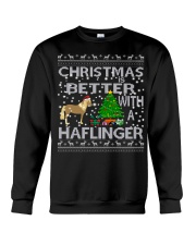 Christmas Is Better With A Haflinger Horse Crewneck Sweatshirt tile
