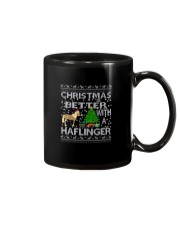 Christmas Is Better With A Haflinger Horse Mug thumbnail