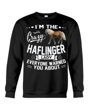 Crazy Haflinger Lady Crewneck Sweatshirt thumbnail