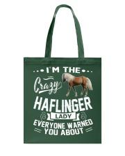 Crazy Haflinger Lady Tote Bag thumbnail
