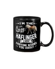 Crazy Haflinger Lady Mug thumbnail