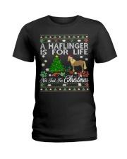 Haflinger Just For Christmas Ladies T-Shirt thumbnail