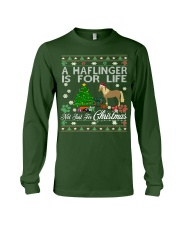Haflinger Just For Christmas Long Sleeve Tee front