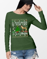 Haflinger Just For Christmas Long Sleeve Tee lifestyle-unisex-longsleeve-front-4