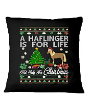 Haflinger Just For Christmas Square Pillowcase thumbnail