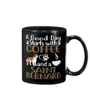 A Good Day With Coffee And Saint Bernard Mug thumbnail