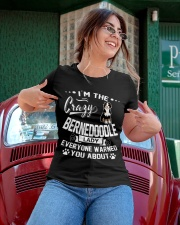 Crazy Bernedoodle Lady Ladies T-Shirt apparel-ladies-t-shirt-lifestyle-01