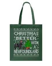 Christmas Is Better With A Newfoundland Newfie Tote Bag thumbnail