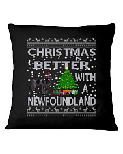 Christmas Is Better With A Newfoundland Newfie Square Pillowcase thumbnail