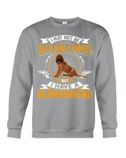 Rich And Famous With Bloodhound Crewneck Sweatshirt tile