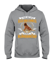 Rich And Famous With Bloodhound Hooded Sweatshirt thumbnail