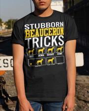 Stubborn Beauceron Tricks Classic T-Shirt apparel-classic-tshirt-lifestyle-29