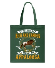 RIch And Famous Appaloosa Tote Bag tile