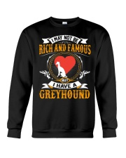 Rich And Famous WIth Greyhound Crewneck Sweatshirt thumbnail