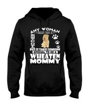 Wheaten Mommy Hooded Sweatshirt thumbnail