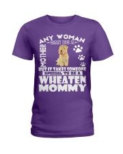 Wheaten Mommy Ladies T-Shirt front
