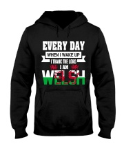 Thanks Lord I am Welsh Hooded Sweatshirt tile