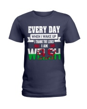 Thanks Lord I am Welsh Ladies T-Shirt thumbnail