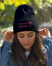 The Defending Champions 2019 Knit Beanie garment-embroidery-beanie-lifestyle-07
