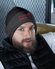 The Defending Champions 2019 Knit Beanie garment-embroidery-beanie-lifestyle-10