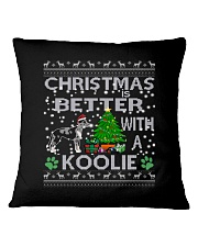Christmas Is Better With A Koolie Square Pillowcase thumbnail