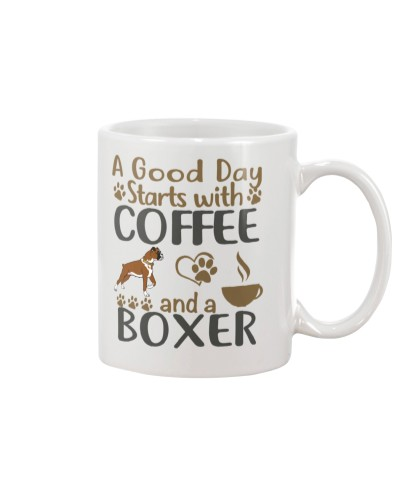 DRINK COFFEE WITH BOXER