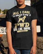All I Care About Is My PWD Classic T-Shirt apparel-classic-tshirt-lifestyle-29