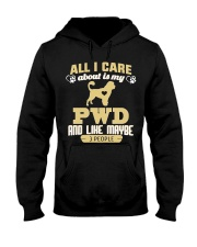 All I Care About Is My PWD Hooded Sweatshirt thumbnail